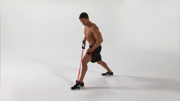 Workout Instructional: Single Leg Arm Row